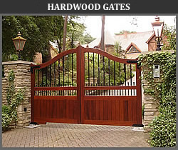 Iron Wood Gates